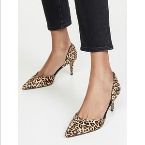 Sam Edelman Jaina D'Orsay Leopard Print Heels 7.5